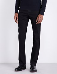 Brioni Chamonix Regular Fit Straight Leg Jeans Black
