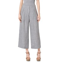 Pleated Linen Culottes