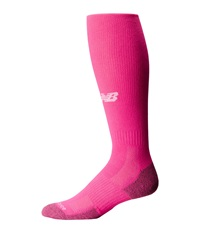 New Balance All Sport Over The Calf Tube Pink Crew Cut Socks Shoes
