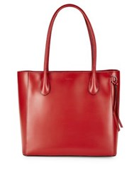 Lodis Audrey Under Lock And Key Cecily Leather Satchel Red