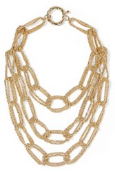 Rosantica Onore Gold Tone Necklace One Size