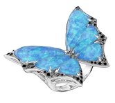 Stephen Webster Fly By Night Crystal Haze Small Ring Blue