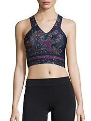 Nanette Lepore Palace Printed Cropped Top Palace Multi