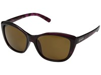 Suncloud Polarized Optics Skyline Purple Tortoise Brown Polycarbonate Lens Sport Sunglasses