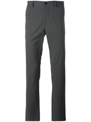 Theory Neoteric Zaine Stretch Trousers Grey