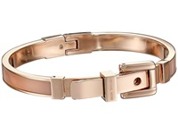 Michael Kors Acetate Buckle Bangle Rose Gold Blush Bracelet Pink