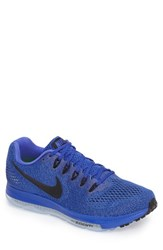 Nike Men's Air Zoom All Out Running Sneaker Paramount Blue Grey Black