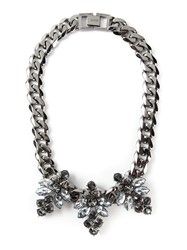 Mawi 'Triple Firelfy' Necklace Metallic