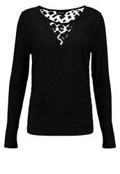 Kookai Long Sleeved Top Noir Black