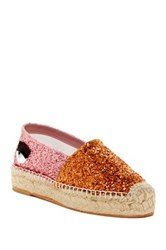 Chiara Ferragni Antracite Espadrille Orange