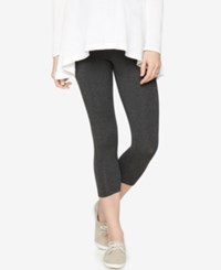 A Pea In The Pod Skinny Cropped Maternity Leggings Grey