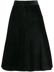 M Missoni A Line Knitted Skirt Black