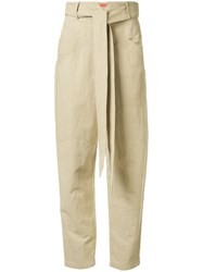 Manning Cartell High Waisted Belted Trousers 60