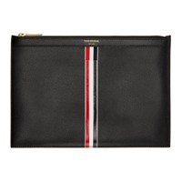 Thom Browne Black Small Tablet Holder