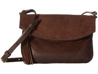 Frye Paige Small Crossbody Dark Brown 1 Top Handle Handbags