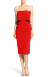 Likely Women's 'Driggs' Strapless Popover Sheath Dress