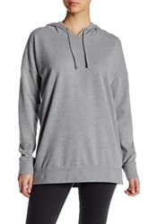 Volcom Lived In Long Pullover Hoodie Gray