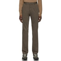 Z Zegna Khaki Cotton Satin Trousers