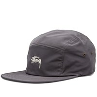 Stussy Stock Nylon Poly Camp Cap Grey