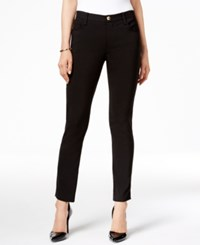 Tahari By Arthur S. Levine Asl Stretch Ankle Pants Black