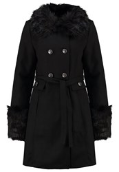 Anna Field Carab Winter Coat Black