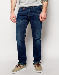 Replay Jeans Waitom Straight Fit Mid Wash Blue