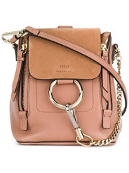 Chloe Faye Backpack Pink And Purple