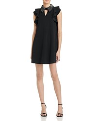 Gracia Embellished Collar Shift Dress Compare At 103 Black