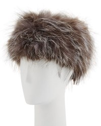 La Fiorentina Fox Fur Russian Hat Natural