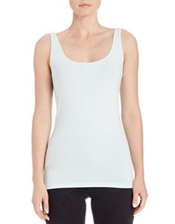 Lord And Taylor Iconic Fit Tank Top Moonlight Jade
