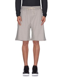 Hall Of Fame Trousers Bermuda Shorts Men Light Grey
