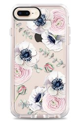 Casetify Blossom Love Iphone 7 8 And 7 8 Plus Case Blue Clear Multi