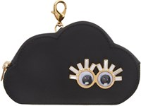 Sophie Hulme Black Cloud Coin Pouch