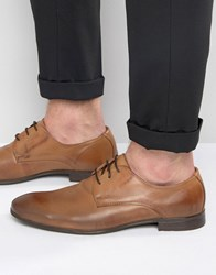 Jack And Jones Leather Derby Shoes Brown