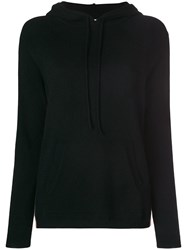 Chinti And Parker Side Stripe Hoodie Black