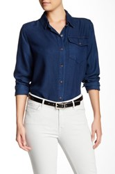 Cj By Cookie Johnson Unity Classic Chambray Shirt Blue