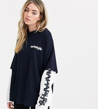 Napapijri Solt T Shirt In Navy