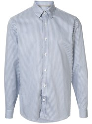 Gieves And Hawkes Striped Pattern Shirt 60