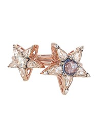 Selim Mouzannar Diamond Sapphire And Pink Gold Istanbul Rings