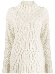 Snobby Sheep Cable Knit Jumper 60