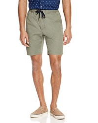 Barney Cools B.Cools Drawstring Shorts Army Green