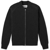 Our Legacy Base Bomber Knit Black
