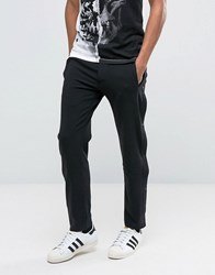 Religion Joggers With Popper Leg Black