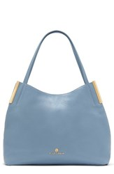Vince Camuto 'Tina' Leather Tote Blue Blue Heaven