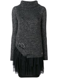 Patrizia Pepe Sequin Embellished Jumper Green