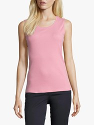Betty Barclay Fine Ribbed Vest Top Sea Pink