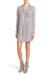 Wayf Women's Lace Up Shirtdress