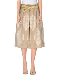 So Nice Skirts 3 4 Length Skirts Women Sand