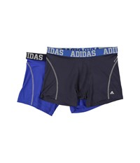 Adidas Sport Performance Climacool 2 Pack Trunk Urban Light Onix Bold Blue Light Onix Men's Underwear Black
