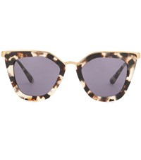 Prada Cat Eye Sunglasses Brown